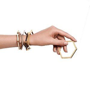 Tory Burch hexagon bracelet